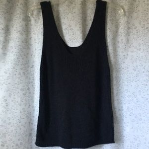 Madewell Texture and Thread tank sweater